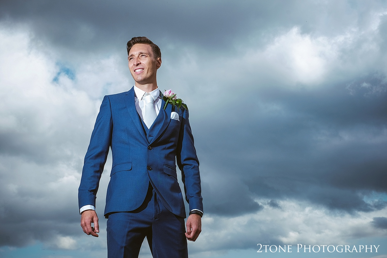 The Groom by Durham based wedding photographers www.2tonephotography.co.uk