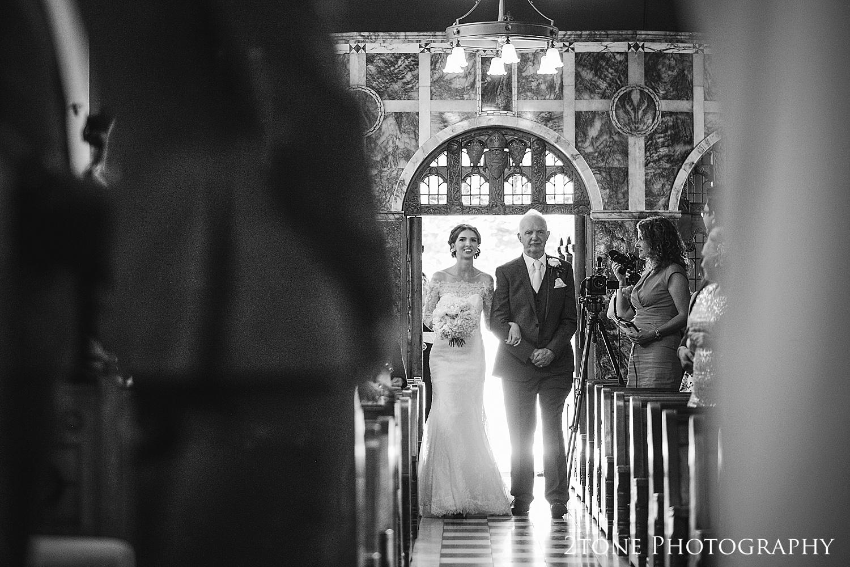The Brooks chapel at Wynyard Hall by Durham based wedding photographers www.2tonephotography.co.uk