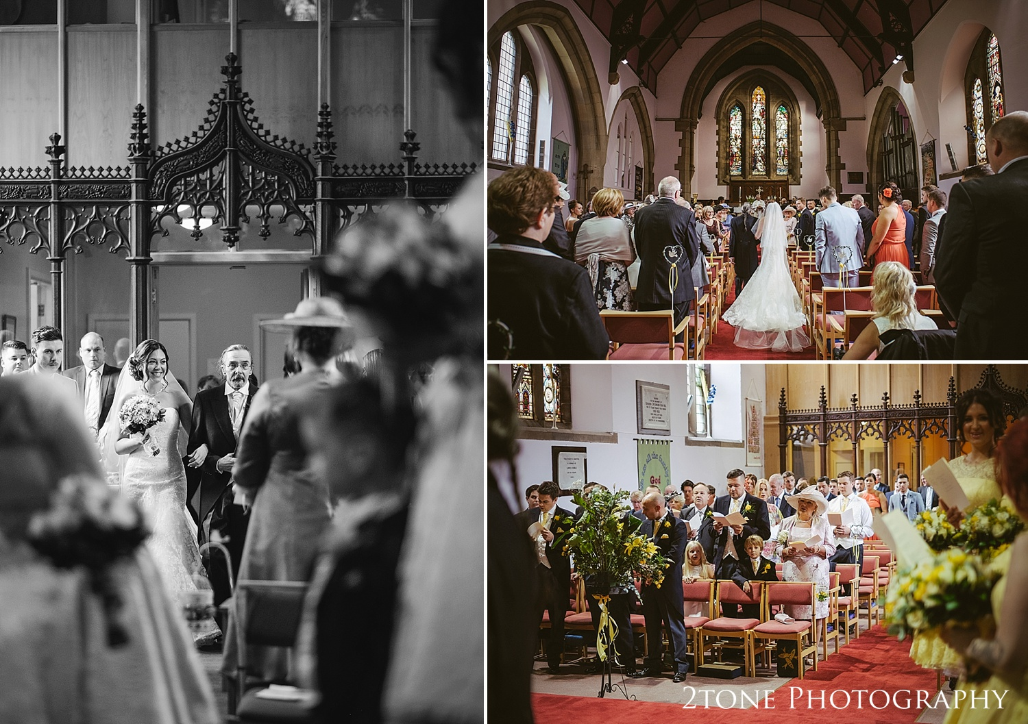 Natural wedding photography, Church weddings in Seaham by Wedding Photographers based in Durham, www.2tonephotography.co.uk