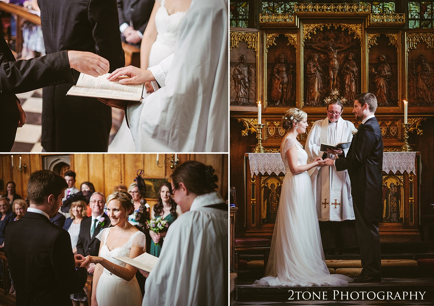 Natural wedding photography in Durham by Durham based wedding photographers www.2tonephotography.co.uk