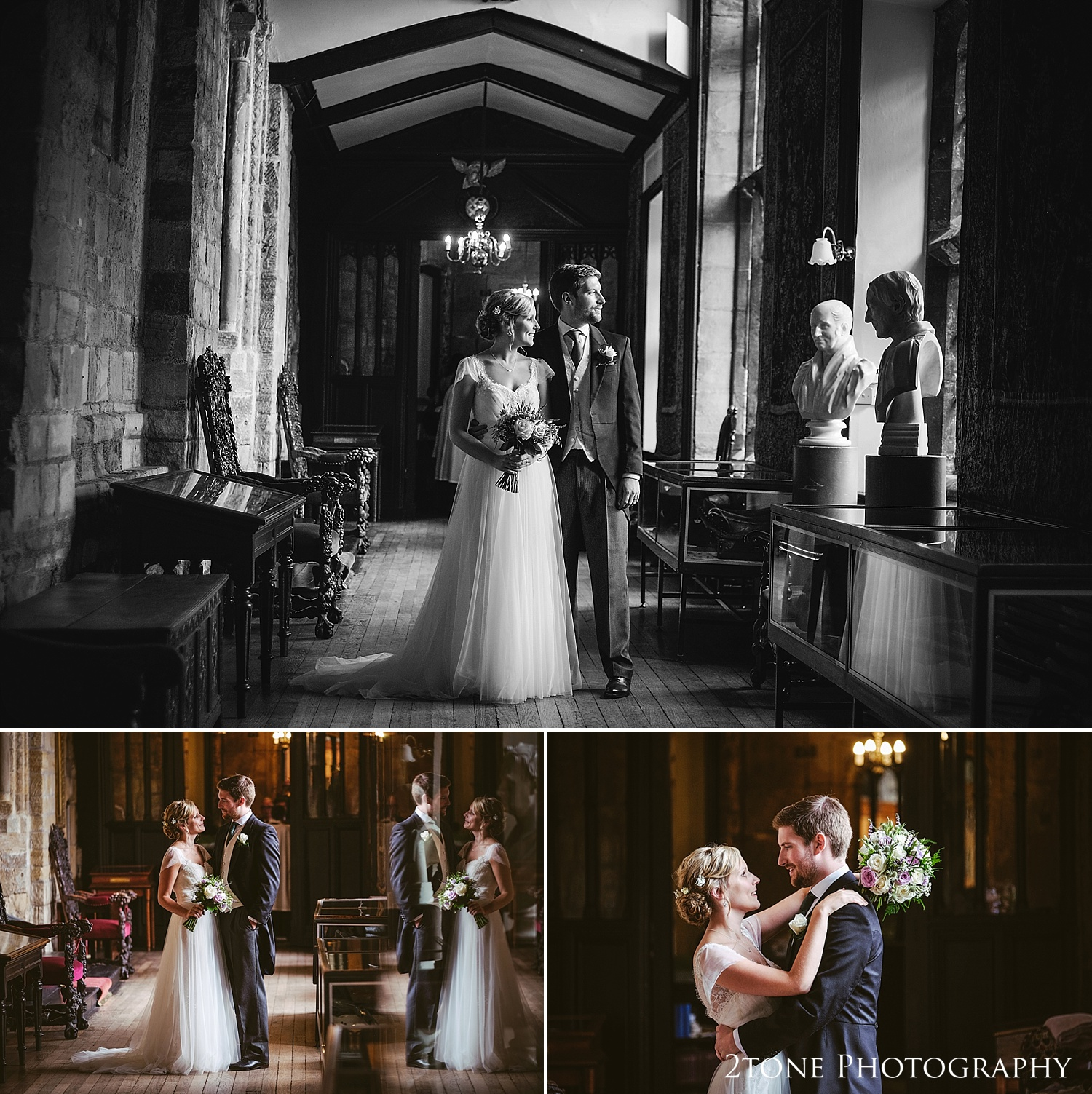 The Tunstall gallery.  Natural wedding photography in Durham by Durham based wedding photographers www.2tonephotography.co.uk