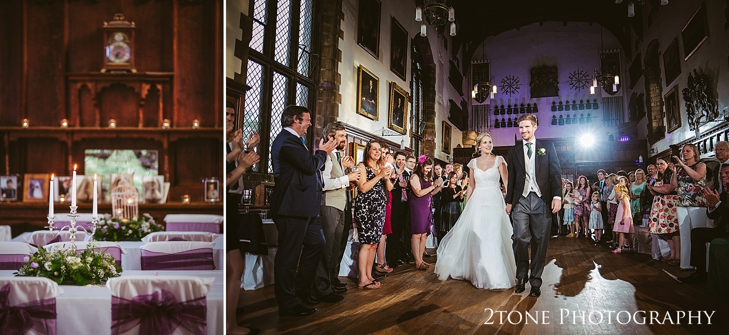 Wedding first dance at Durham Castle by husband and wife team 2tone Photography www.2tonephotography.co.uk