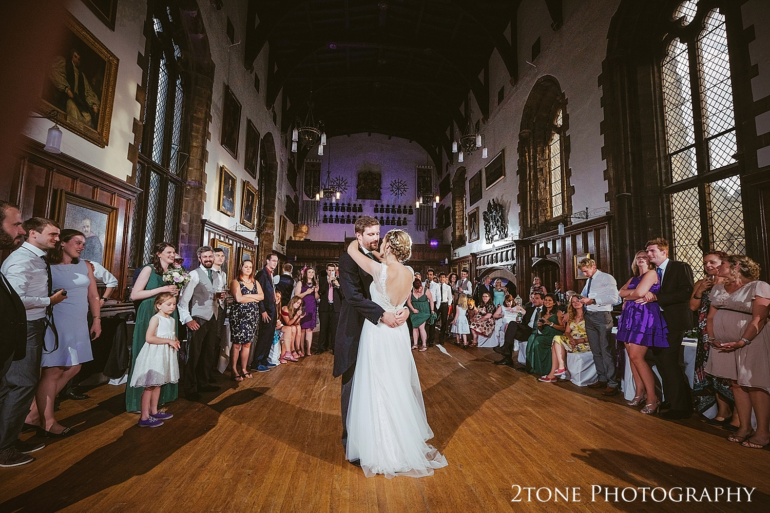 First dance at Durham Castle by husband and wife team 2tone Photography www.2tonephotography.co.uk