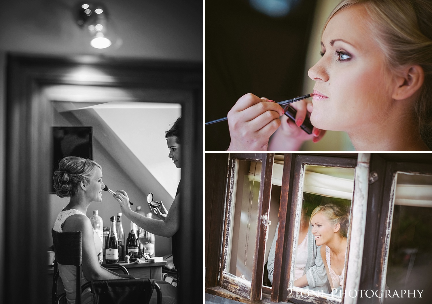 Bridal preparations at Jesmond Dene House in Newcastle by 2tone Photography www.2tonephotography.co.uk