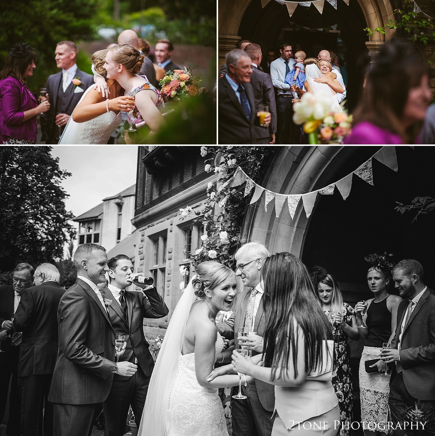 Natural wedding photographs at Jesmond Dene House in Newcastle by 2tone Photography www.2tonephotography.co.uk