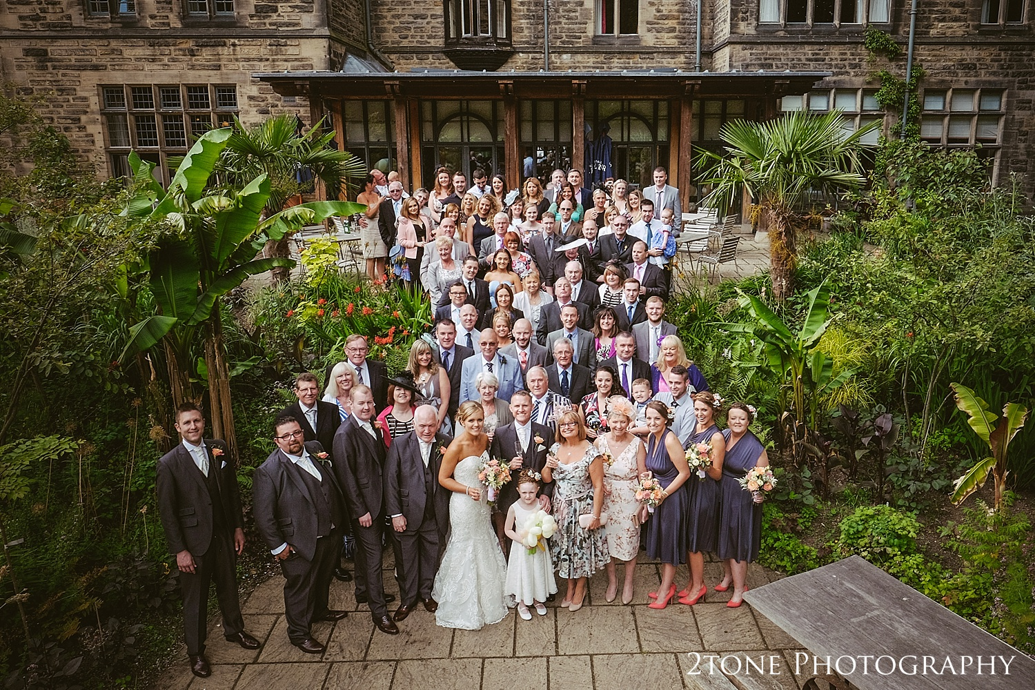 The group shot at Jesmond Dene House in Newcastle by 2tone Photography www.2tonephotography.co.uk