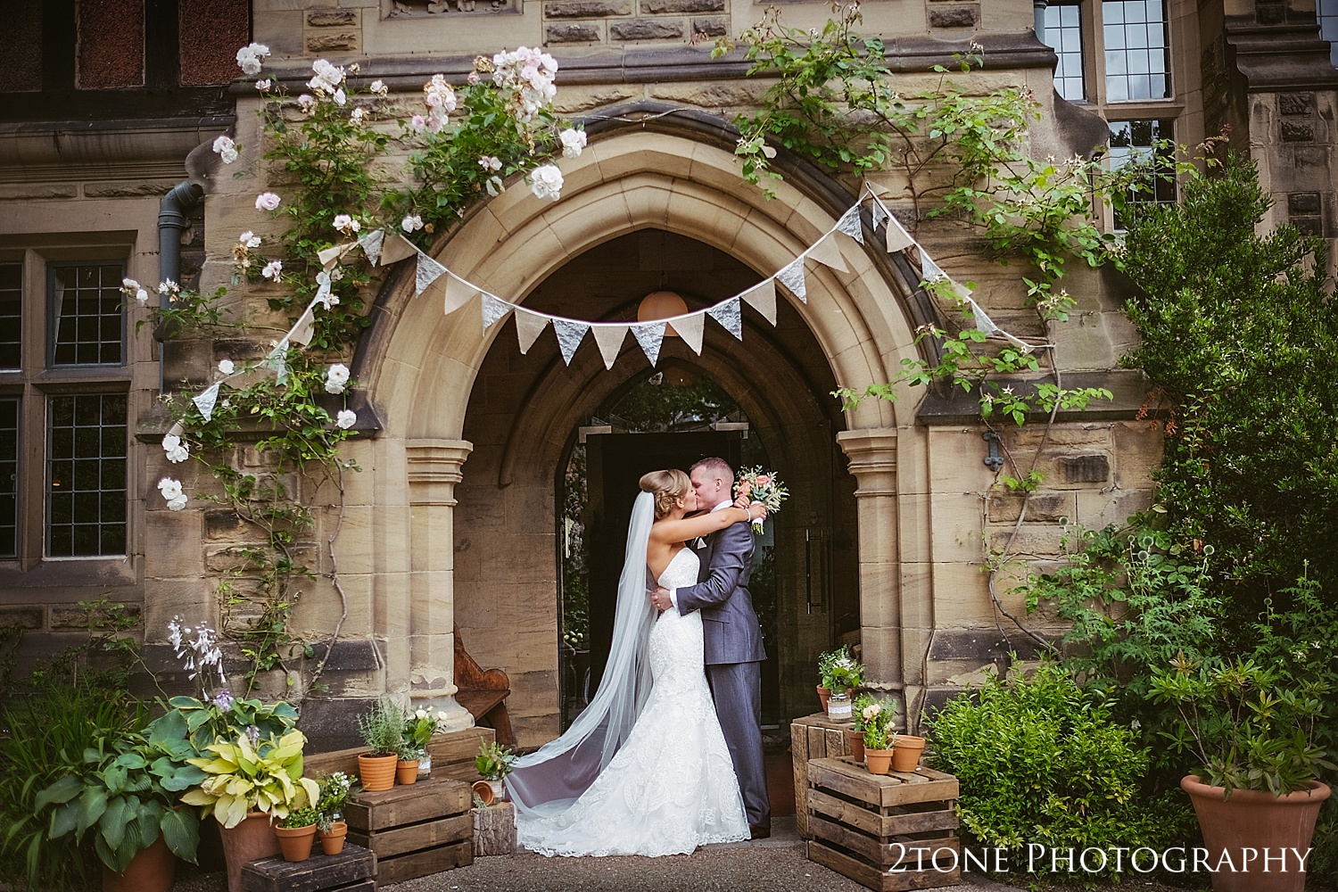 Wedding couple at Jesmond Dene House in Newcastle by 2tone Photography www.2tonephotography.co.uk