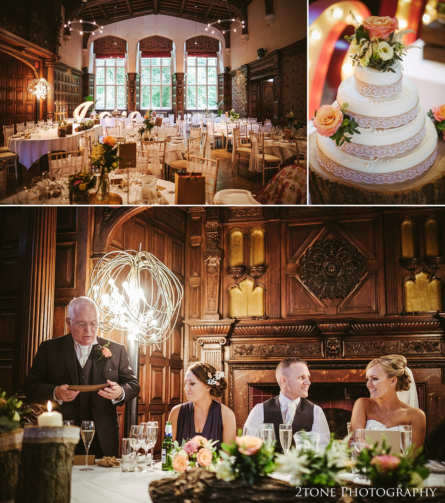 Wedding day speeches at Jesmond Dene House in Newcastle by 2tone Photography www.2tonephotography.co.uk
