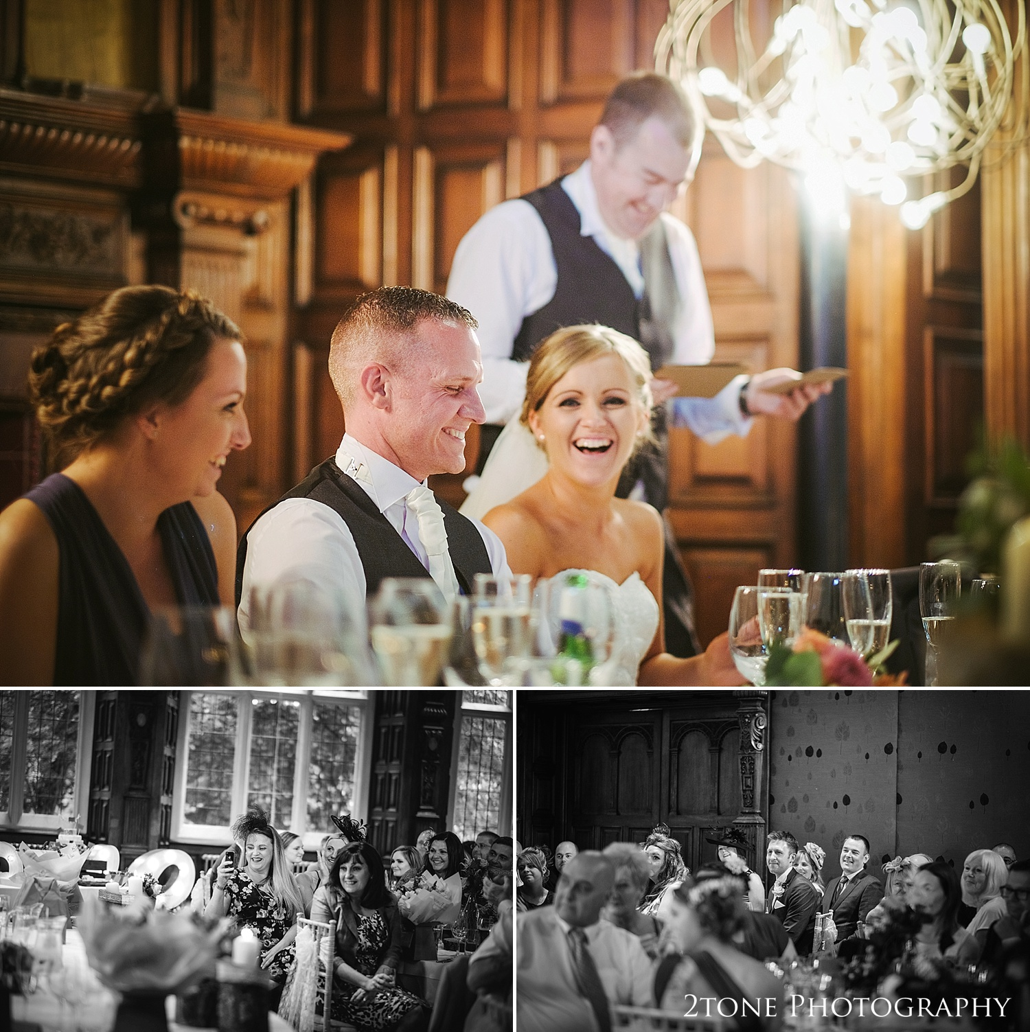 The best man's speech at Jesmond Dene House in Newcastle by 2tone Photography www.2tonephotography.co.uk