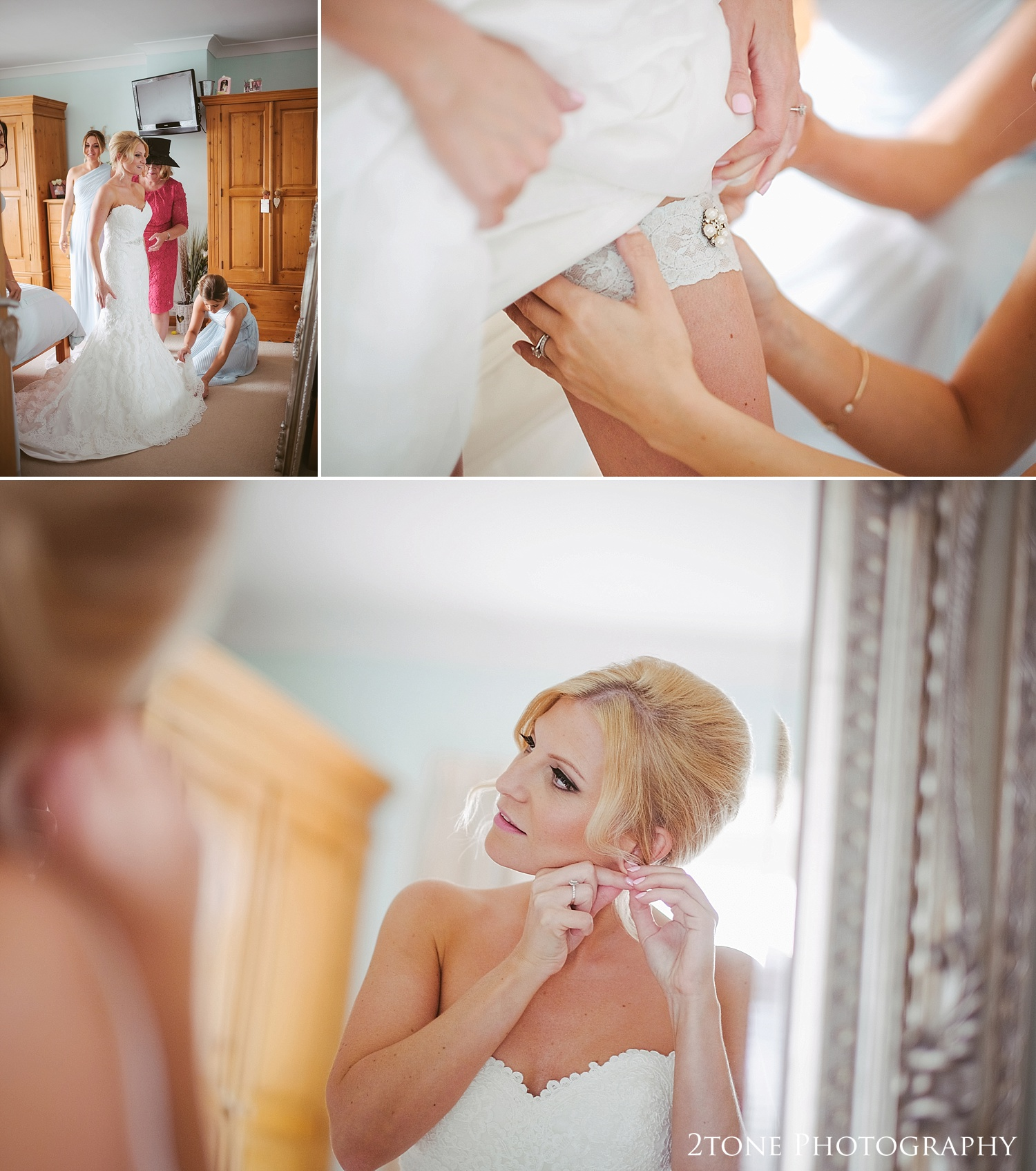 Bridal preparations by wedding photography team 2tone Photography www.2tonephotography.co.uk