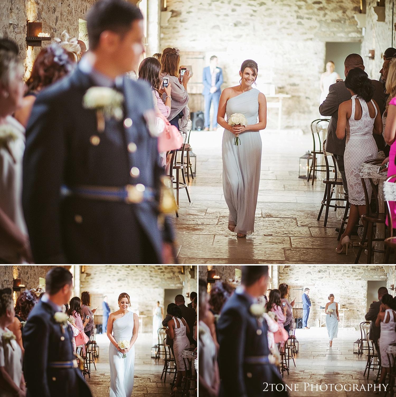 The bridesmaids at Healey Barn by wedding photography team 2tone Photography www.2tonephotography.co.uk