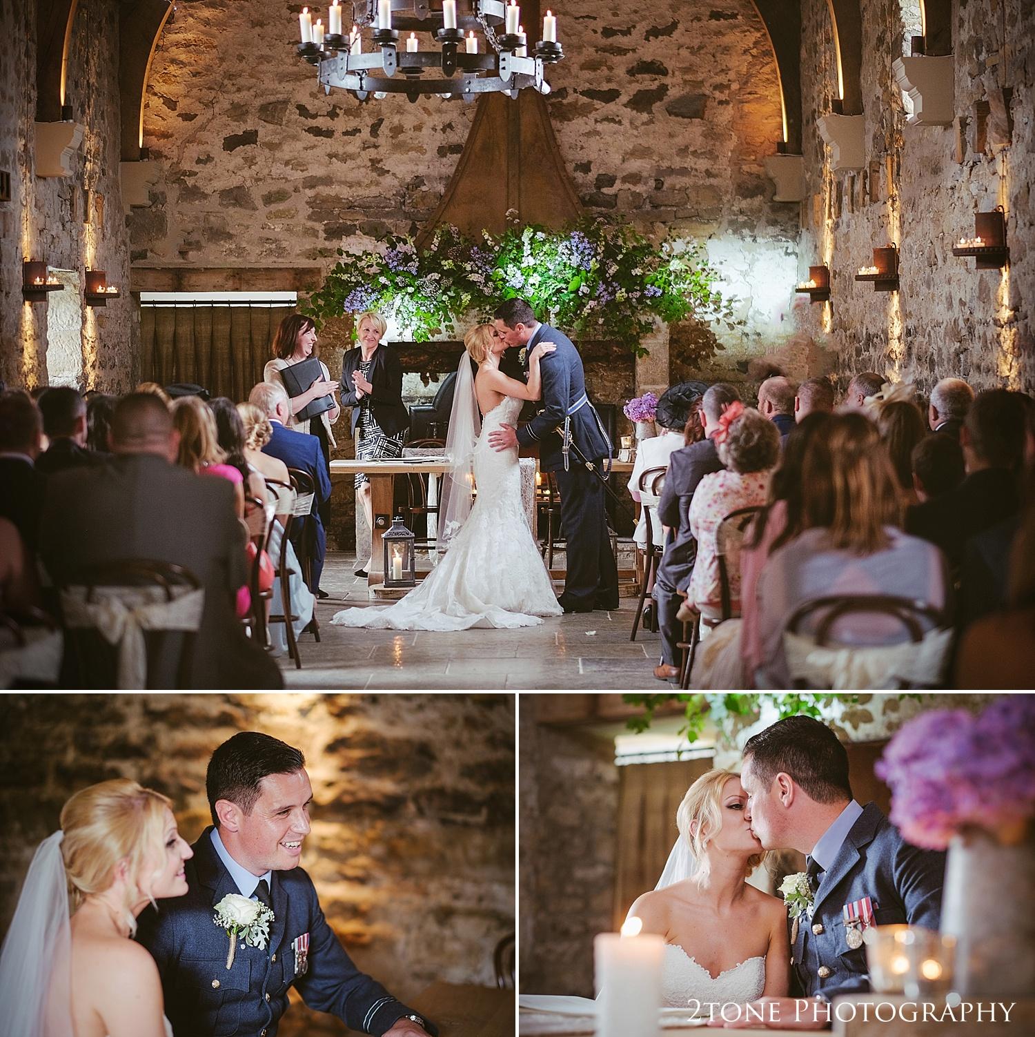 Healey Barn wedding ceremony by wedding photography team 2tone Photography www.2tonephotography.co.uk