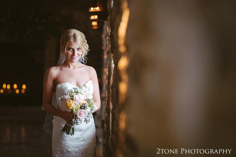 Bridal portrait by wedding photography team, 2tone Photography www.2tonephotography.co.uk