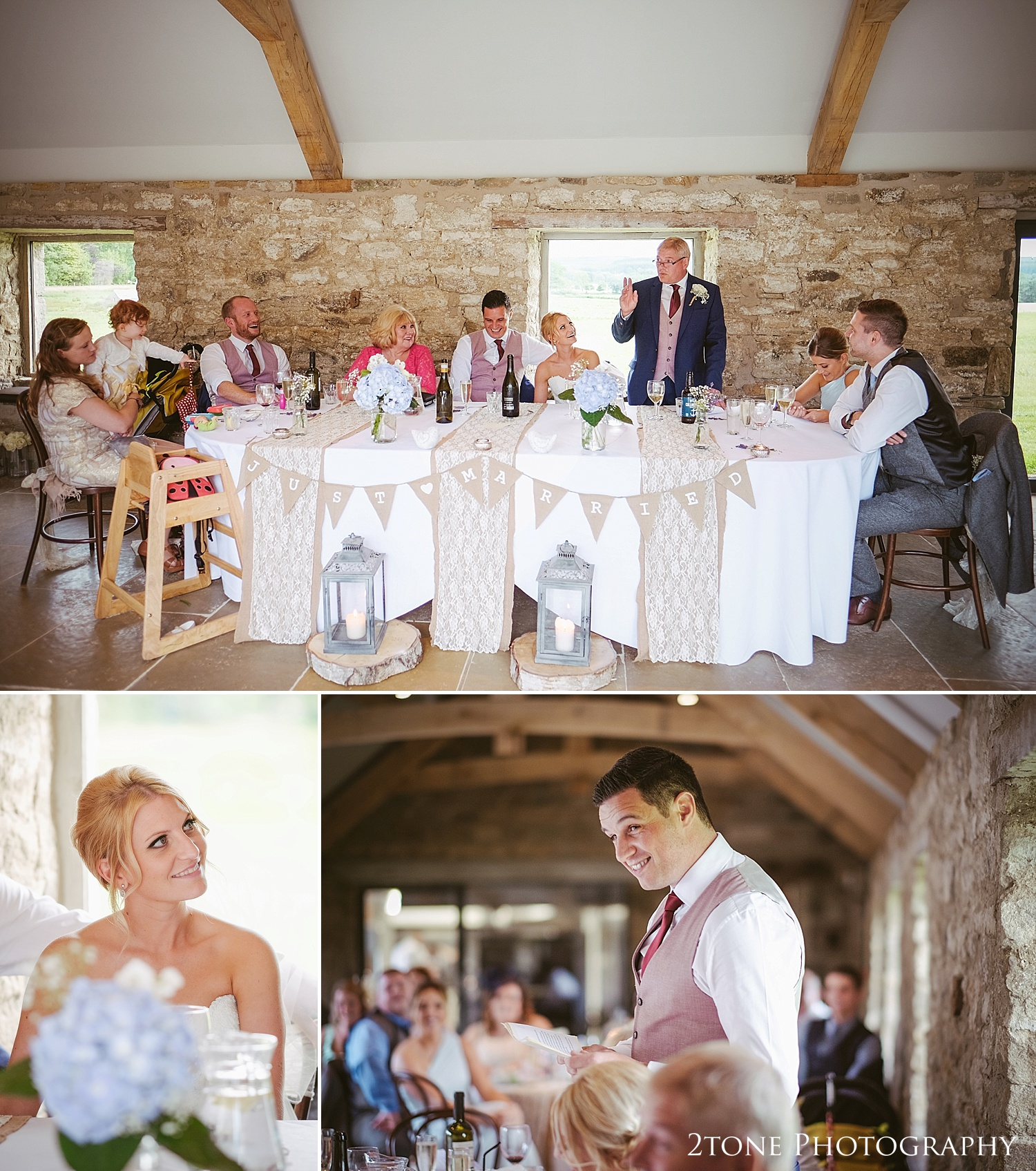 Speeches at Healey Barn by wedding photography team, 2tone Photography www.2tonephotography.co.uk