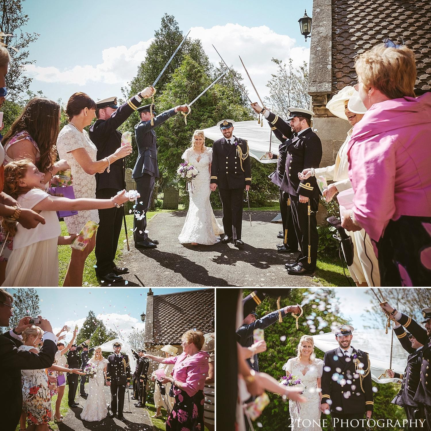 Stamfordham church wedding.  Wedding photography at Matfen Hall by wedding photographer www.2tonephotography.co.uk