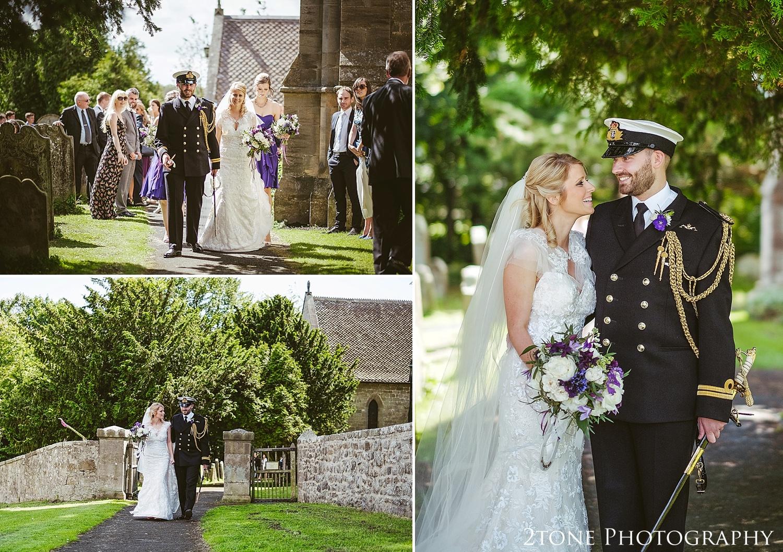 Church wedding in Northumberland.  Wedding photography at Matfen Hall by wedding photographer www.2tonephotography.co.uk