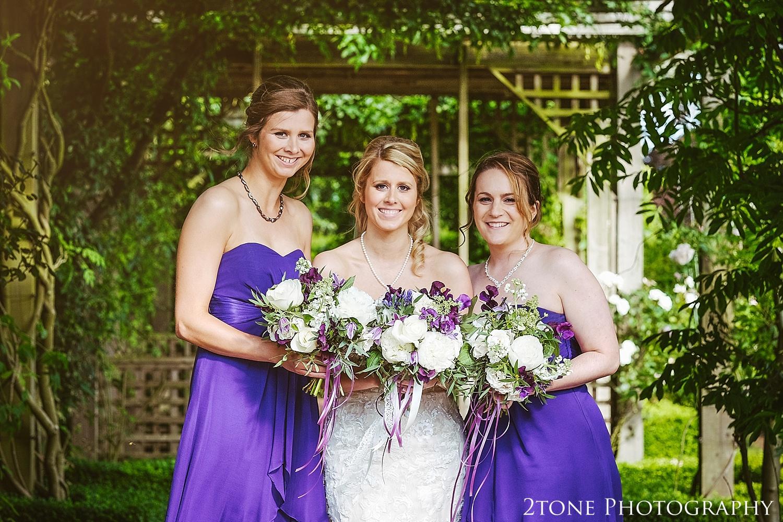 Bridesmaids.  Wedding photography at Matfen Hall by wedding photographer www.2tonephotography.co.uk
