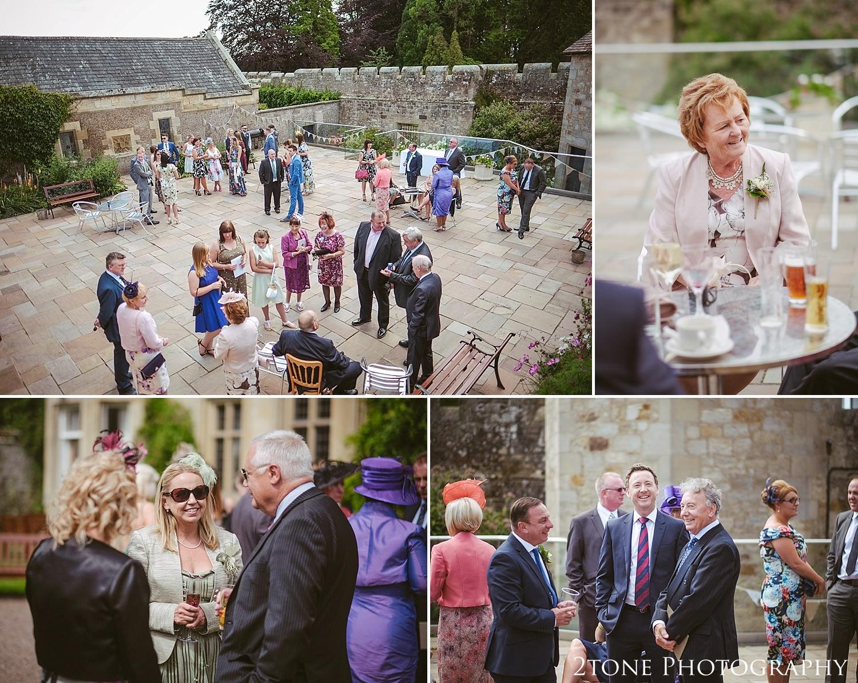 Natural wedding photos in Northumberland.  Wedding photography at Guyzance Hall by wedding photographers www.2tonephotography.co.uk