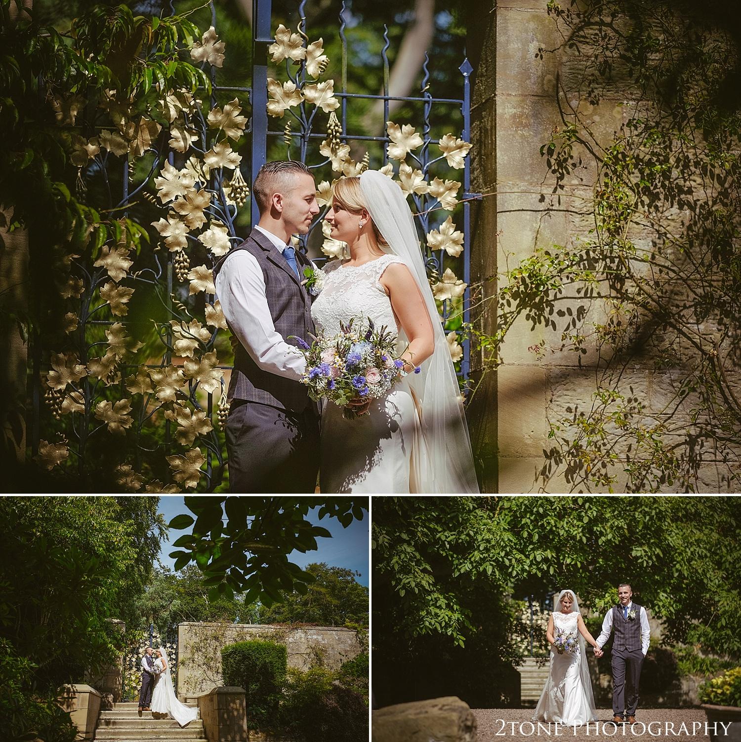 Creative wedding photography.  Wedding photography at Guyzance Hall by wedding photographers www.2tonephotography.co.uk