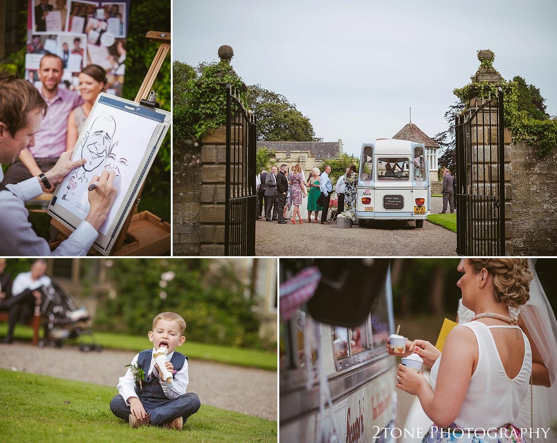 wedding entertainment.  Wedding photography at Guyzance Hall by wedding photographers www.2tonephotography.co.uk