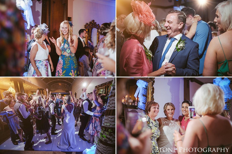 Dancing.  Wedding photography at Guyzance Hall by wedding photographers www.2tonephotography.co.uk