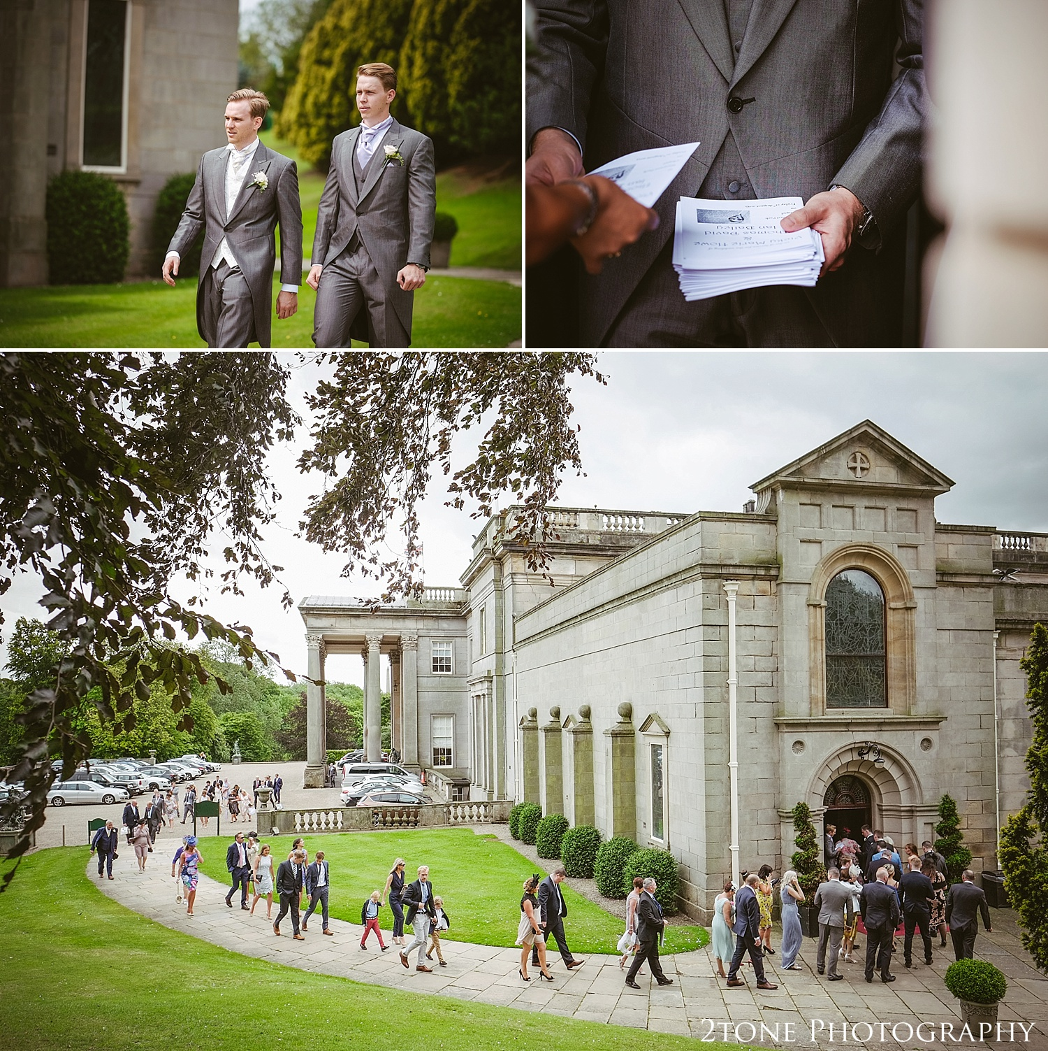 The chapel at Wynyard Hall.  Wedding photography at Wynyard Hall by husband and wife wedding photographers 2tone Photography www.2tonephotography.co.uk