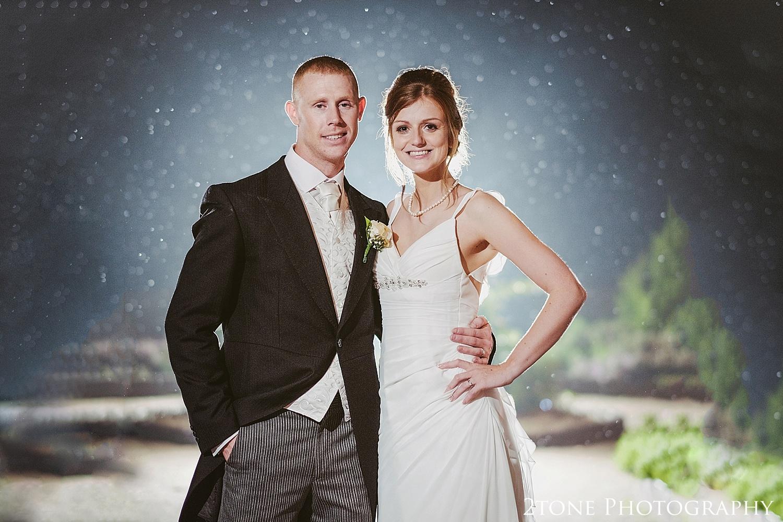 Creative portraiture.  Slaley Hall wedding photography by wedding photographers 2tone Photography.  www.2tonephotography.co.uk