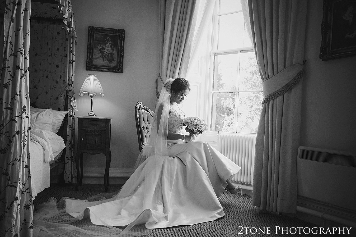 The bride by durham based husband and wife wedding photography duo 2tone Photography www.2tonephotography.co.uk