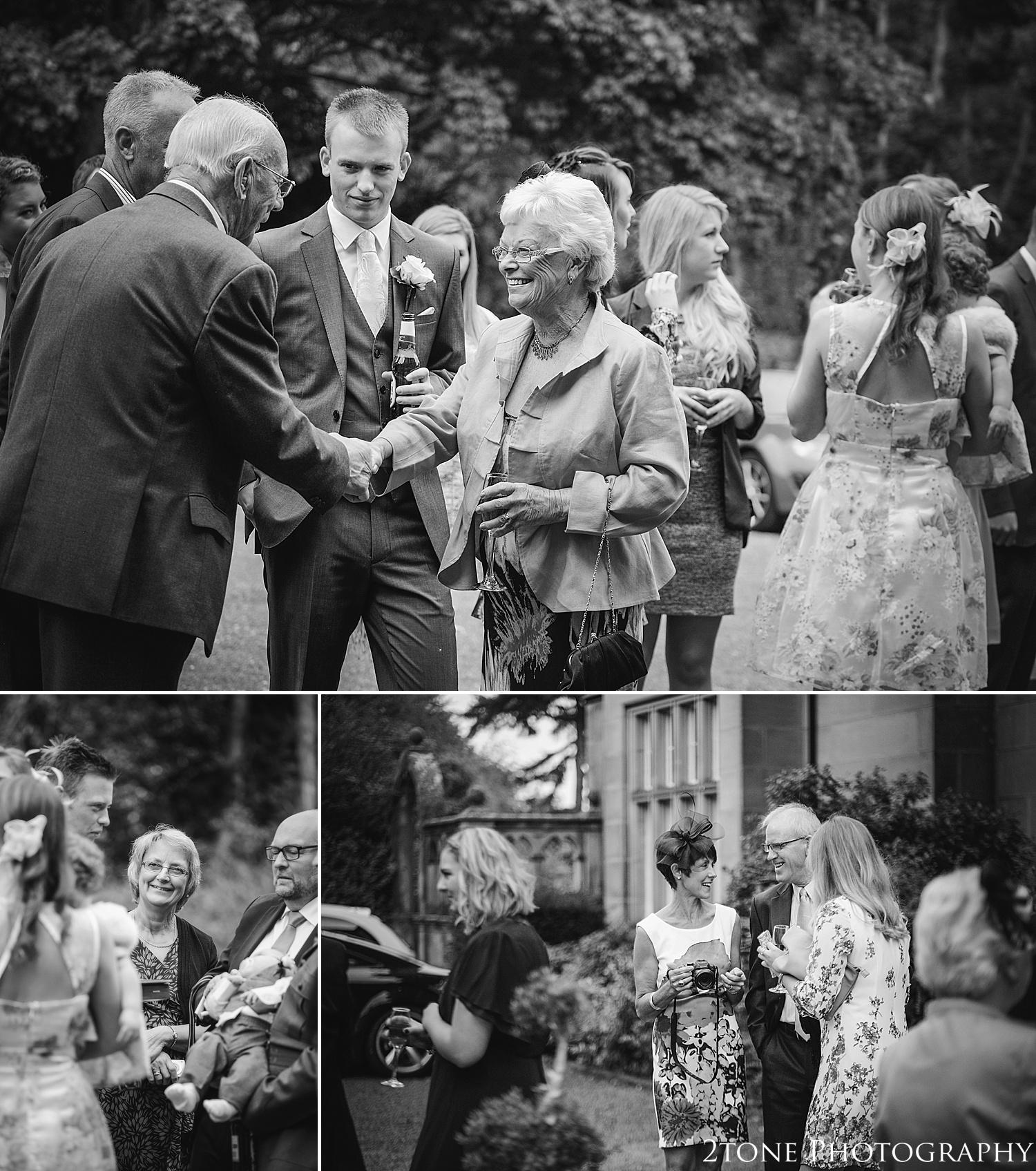 Documentary wedding photography.  Matfen Hall by Durham based wedding photographers 2tone Photography www.2tonephotography.co.uk