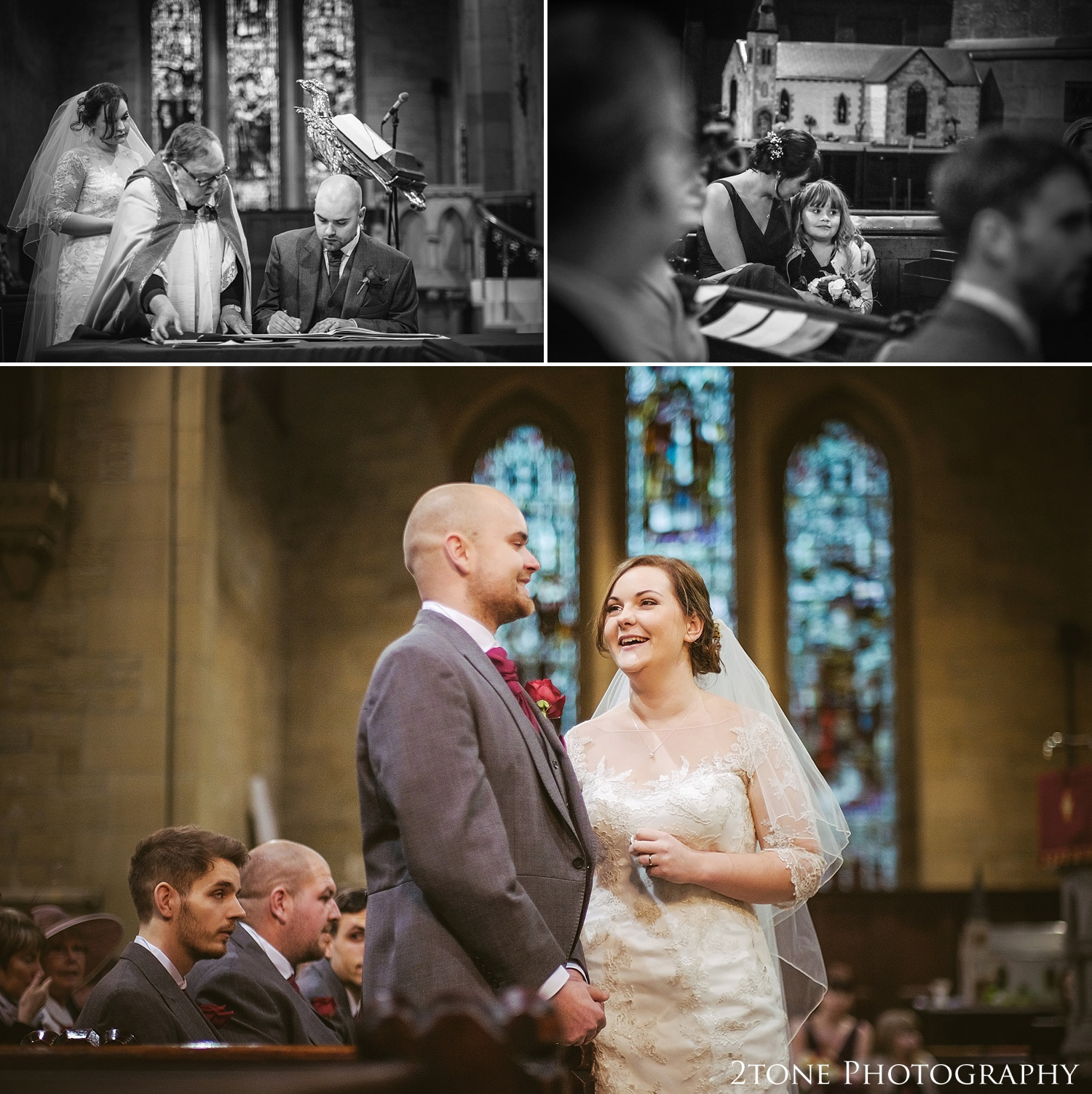 Weddings at St Helen's church, Low Fell Gateshead by wedding photographers 2tone Photography www.2tonephotography.co.uk
