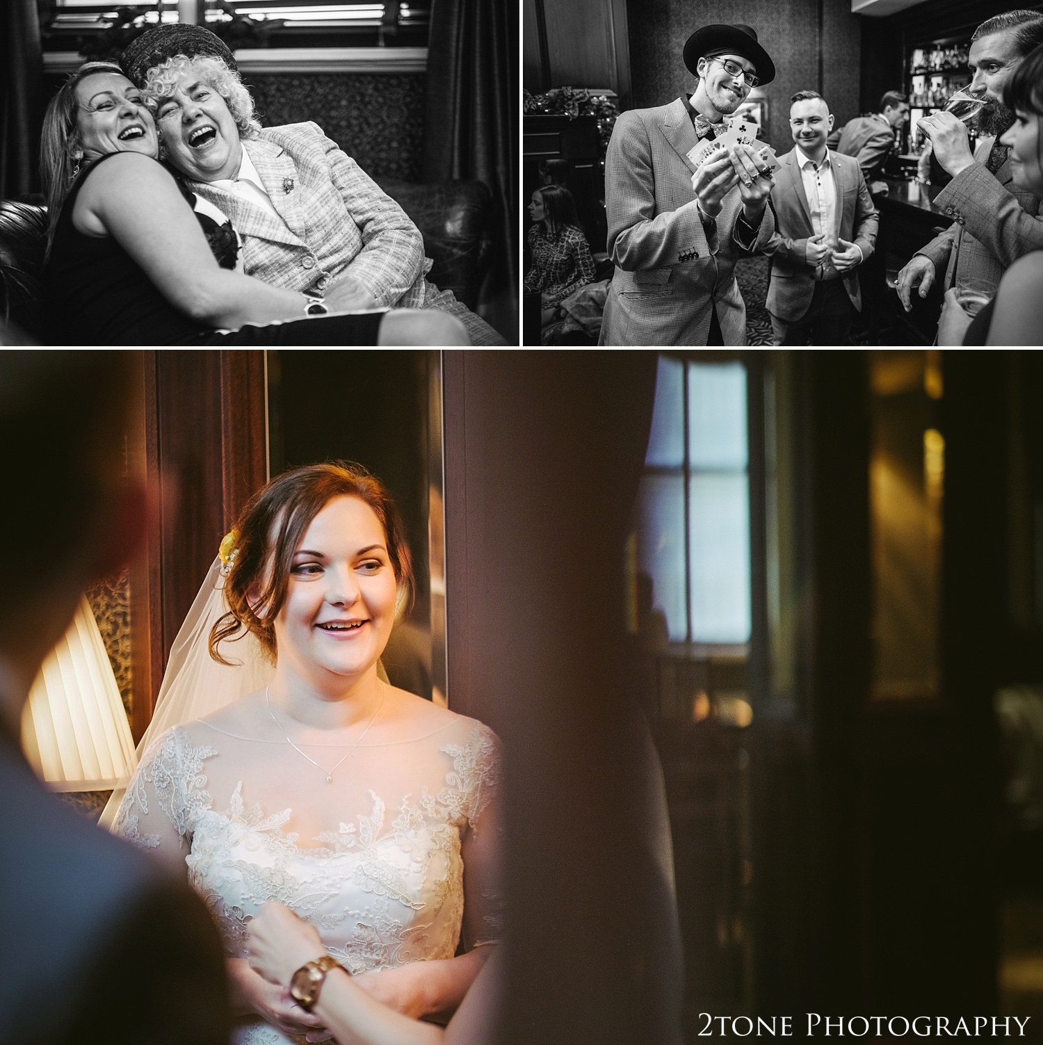 Documentary wedding photography at the Vermont Hotel by wedding photographers 2tone Photography www.2tonephotography.co.uk
