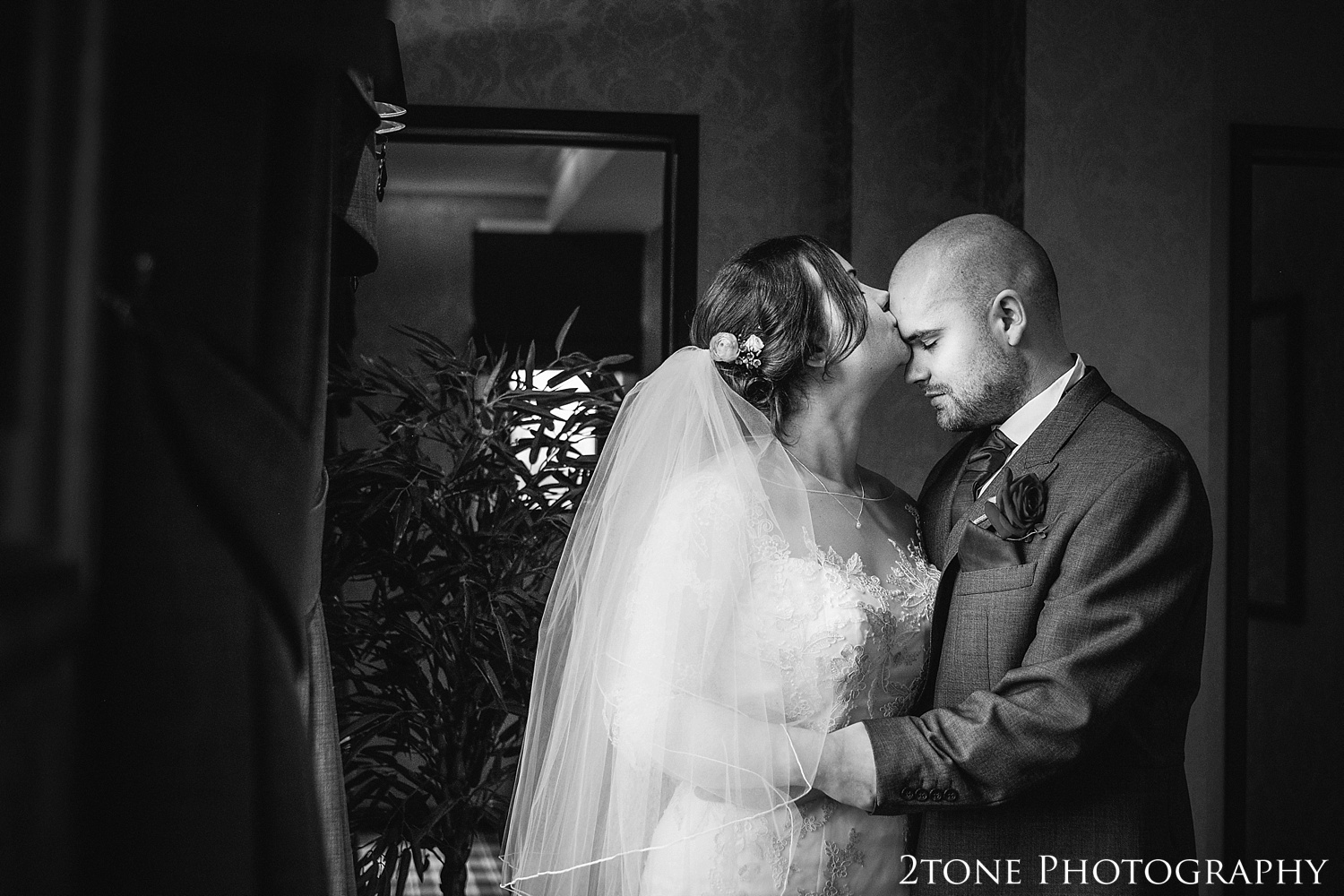 Creative wedding photography at the Vermonth Hotel by wedding photographers 2tone Photography www.2tonephotography.co.uk