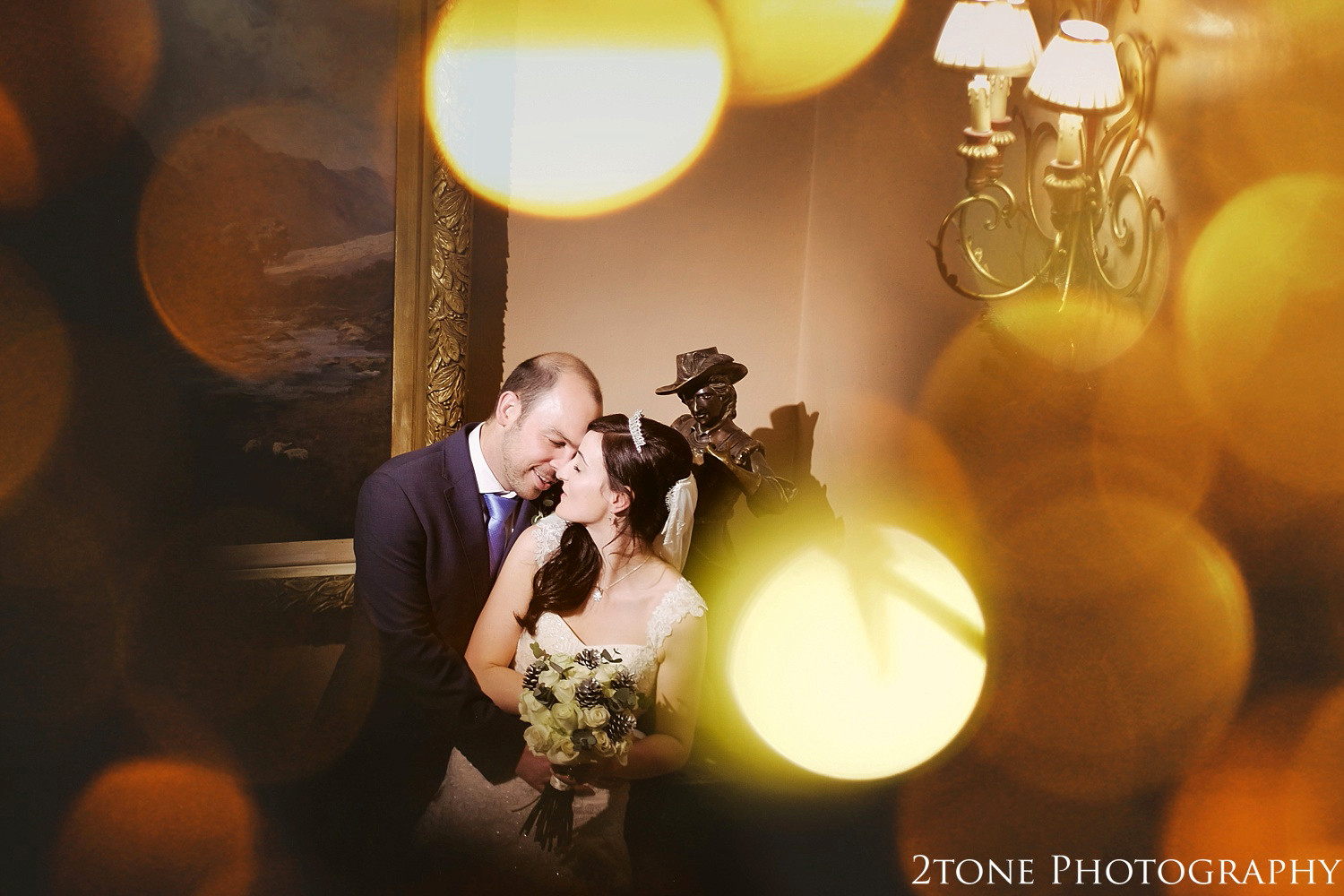 Wedding photography at Lumley Castle by Durham photographer 2tone photography www.2tonephotography.co.uk