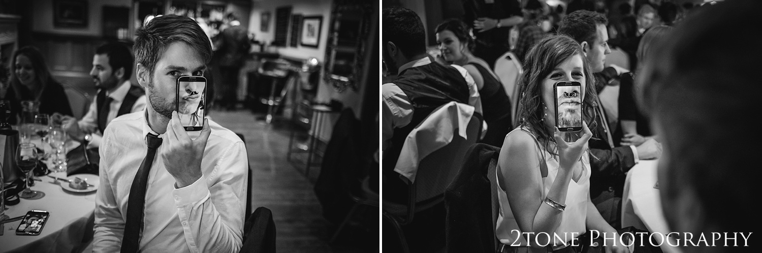 at Ellingham Hall. Winter wedding photography by www.2tonephotography.co.uk