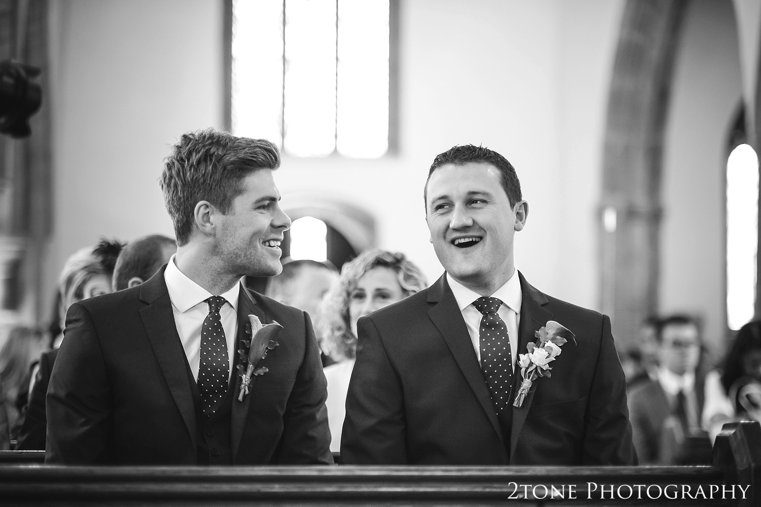 The church wedding ceremony.  Wedding photography in Somerset by husband and wife team 2tone Photography ww.2tonephotography.co.uk
