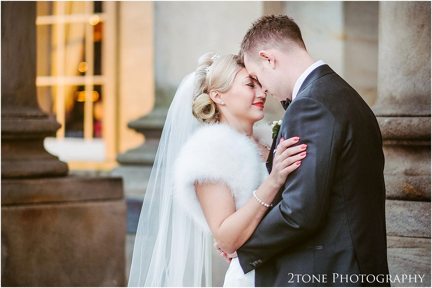 Wynyard Hall wedding in the winter
