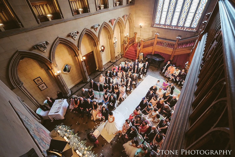 Matfen Hall wedding photograph