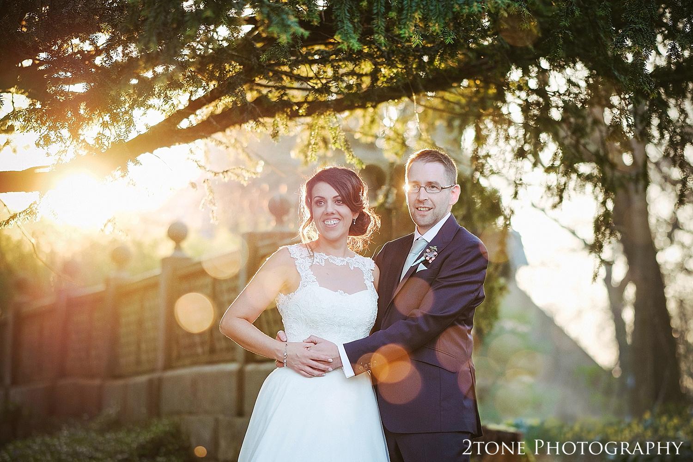 Matfen Hall wedding photo