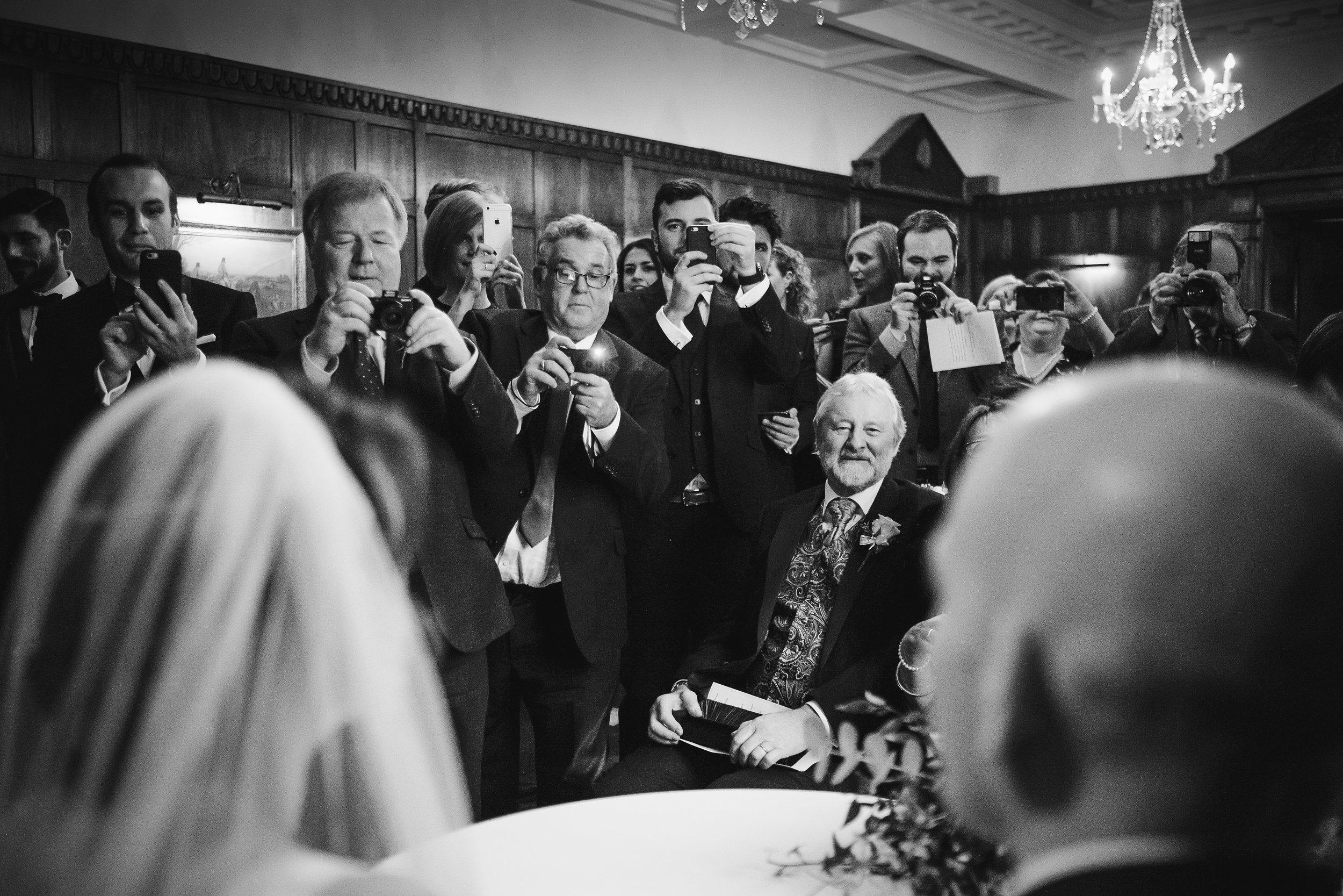 Ellingham Hall wedding photographs