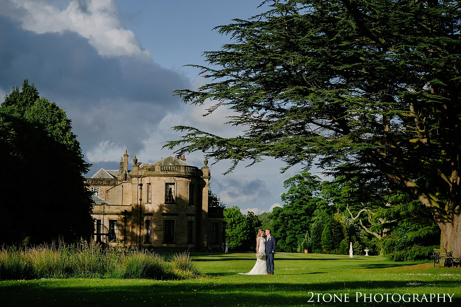 Beamish Hall wedding photos