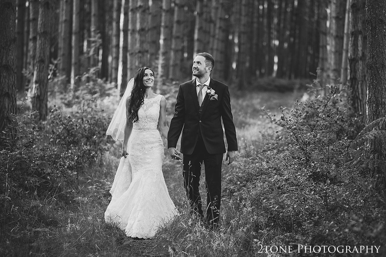 Healey Barn woods wedding photos