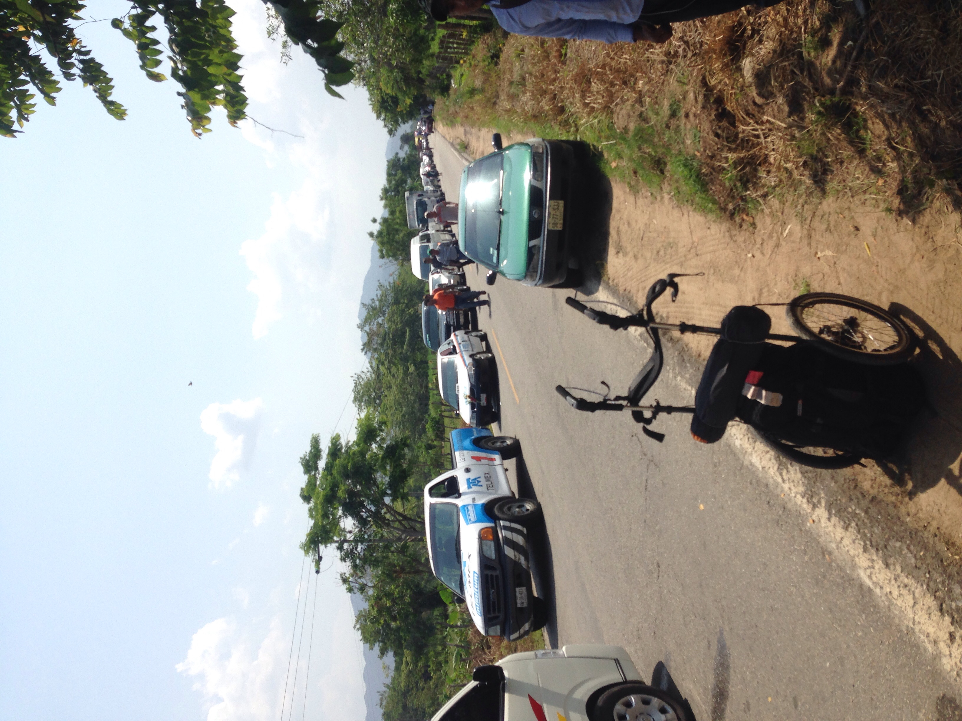 Accident, 5km traffic jam