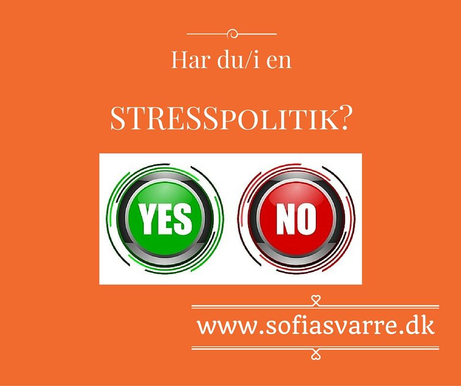 STRESSpolitik