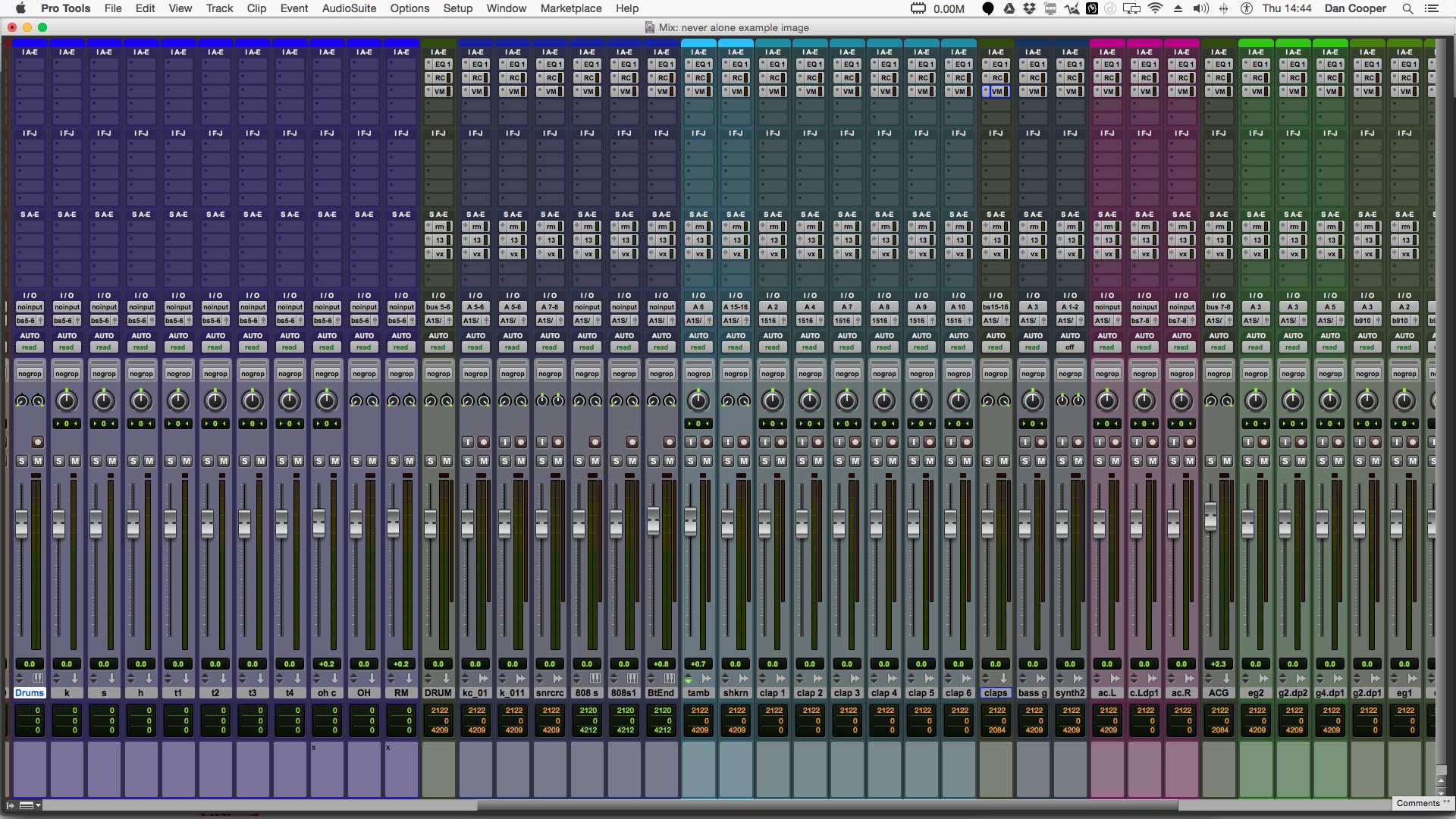 online mixing