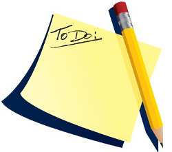To Do list mixing music