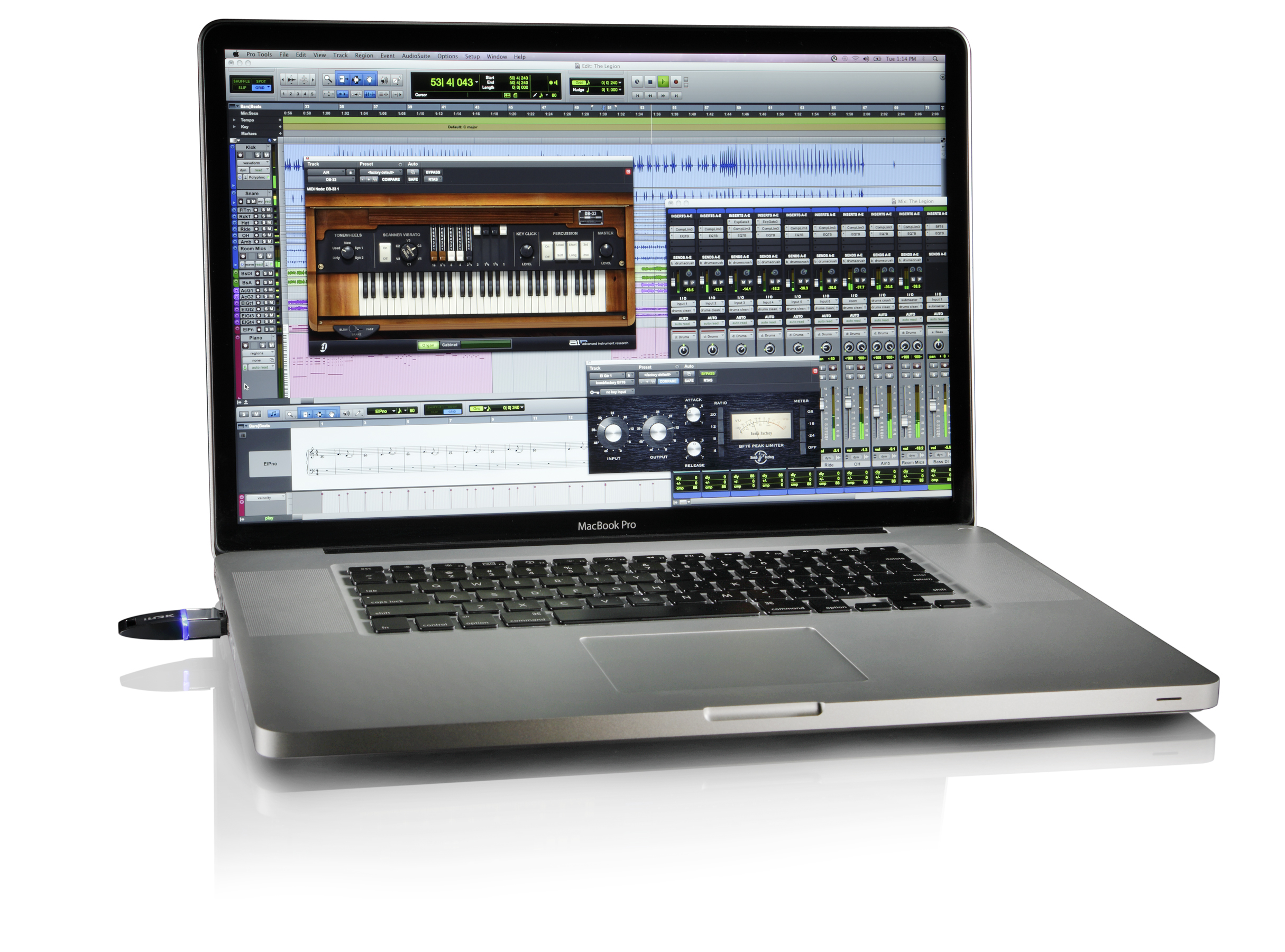 music mixing service