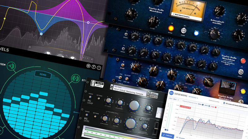 Check Out The Mastering Chain We Use To Master Your Music With - Features Top Analog Studio Gear