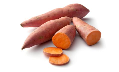 health benefits of sweet potato crisps