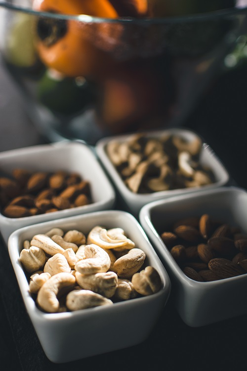 snacks nuts dried fruit office kitchen