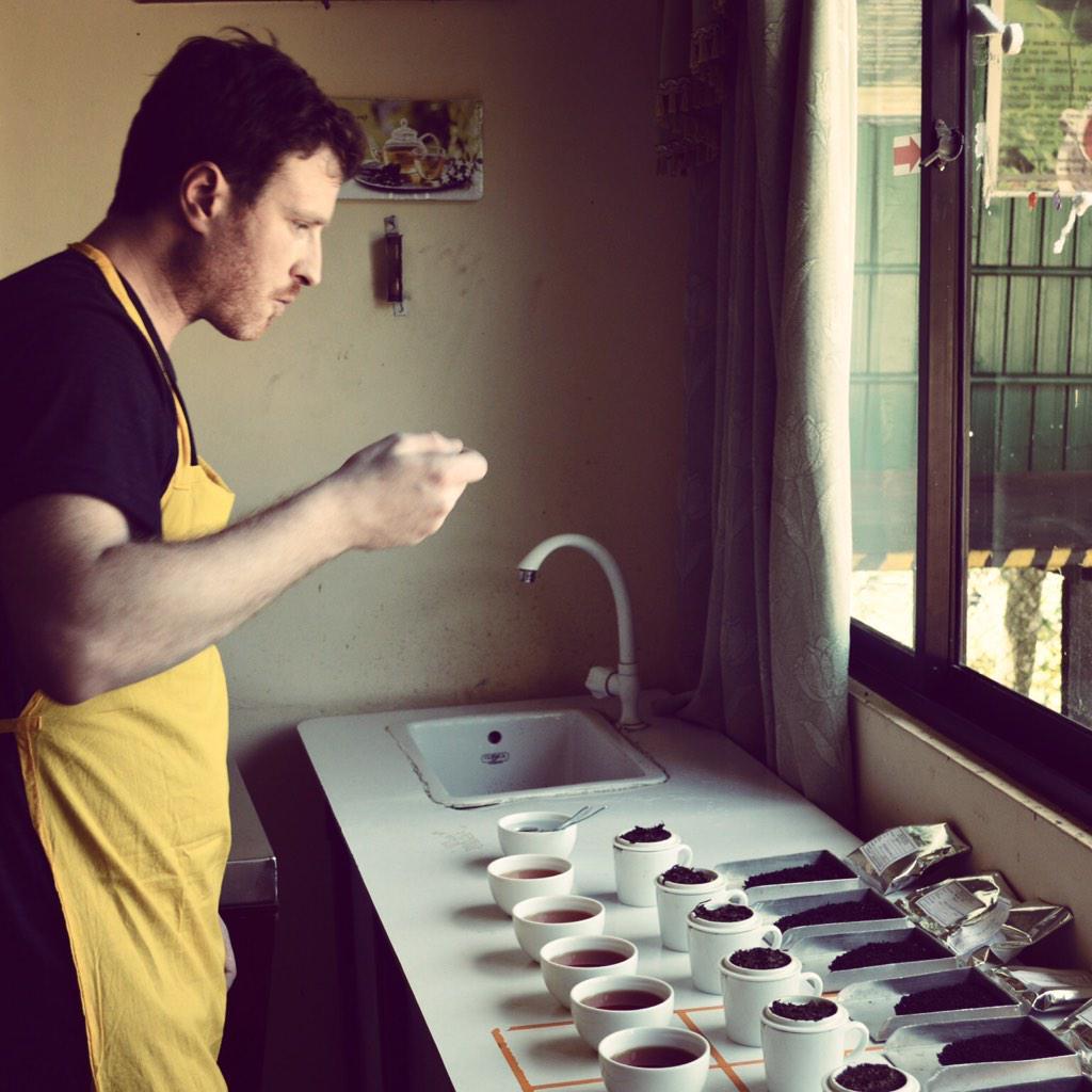 joe's tea production